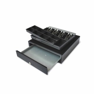 CMR410, Kassenladen 410 cm Breite, 4B/8C, schwarz