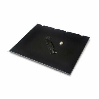 Cover-412, abschliessbarer Deckel für Kassnladeneinsatz, geeignet für CMB410/CMR410, 4B/8C, schwarz