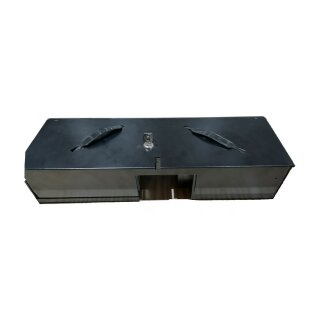 Tray+Cover-4668, Kassnladeneinsatz für CMF460, 6B/8C, mit Deckel, schwarz