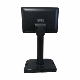 "MP070UG, 7"" Rahmenloser LCD Monitor, USB, NON Touch, Pole Stand, VESA 75x75, schwarz"
