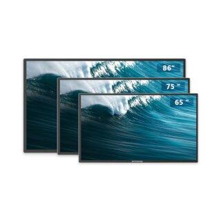 """Bestboard S5EC65, 65"""" Interaktives Display mit PCAP+EMR Touchscreen und eingebauter Weitwinkelkamera"""